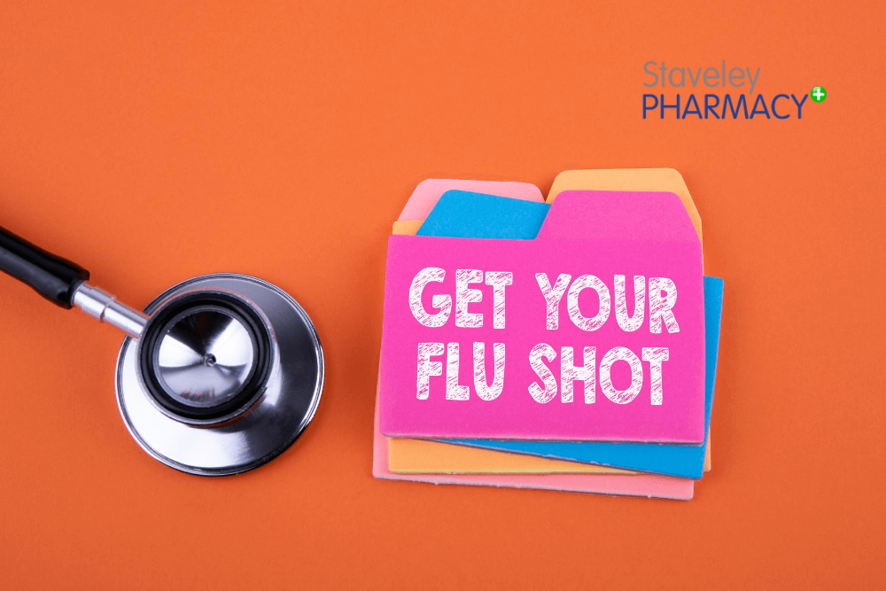 Flu Jab Vaccination Staveley Pharmacy Kendal Cumbria
